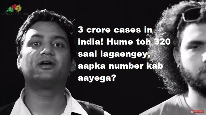 Vipra Dialogues- 3 crore cases