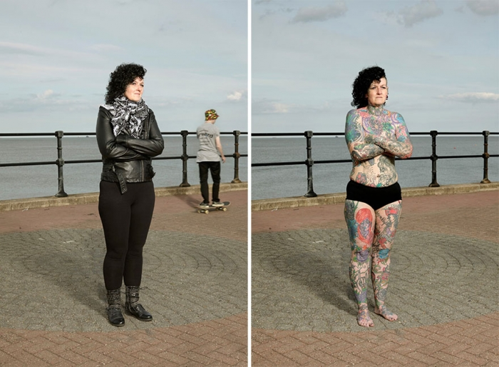 What Hides Under Tattooed People's Everyday Clothes (10)