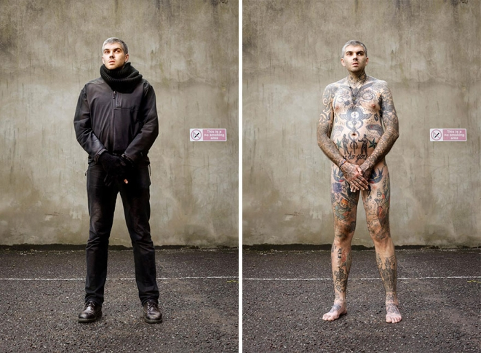 What Hides Under Tattooed People's Everyday Clothes (12)