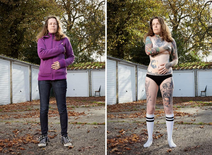 What Hides Under Tattooed People's Everyday Clothes (15)