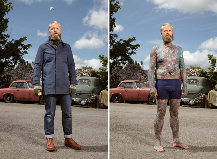 What Hides Under Tattooed People's Everyday Clothes (5)