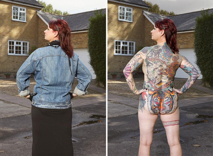 What Hides Under Tattooed People's Everyday Clothes (6)