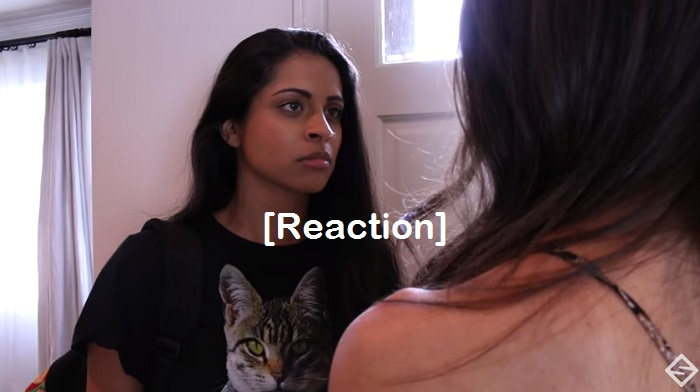 When Your BFF Is In a Relationship- reaction