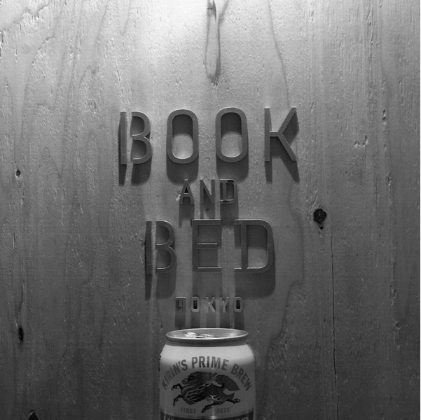 book night ceiling bed and book logo