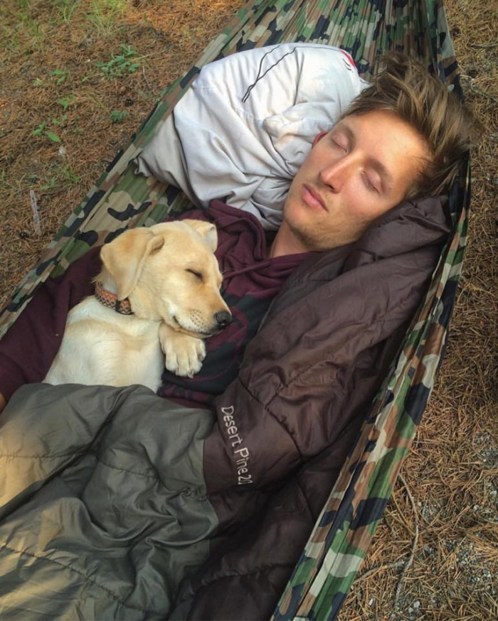 camping with dogs master