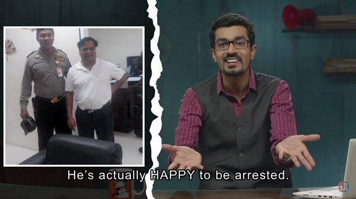 chota chetan has been arrested at the airport