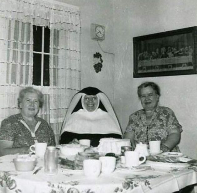 creepy nun