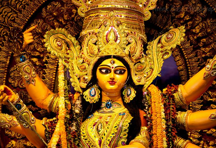 Essay on Durga Puja Celebration in Kolkata