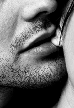 earlobe kiss