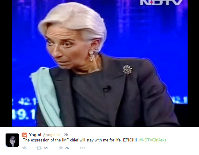 expression of the IMF Chief