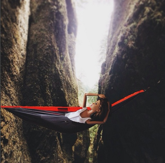 If you need me I'll be spending the day relaxing in my hammock in the most absurd places.