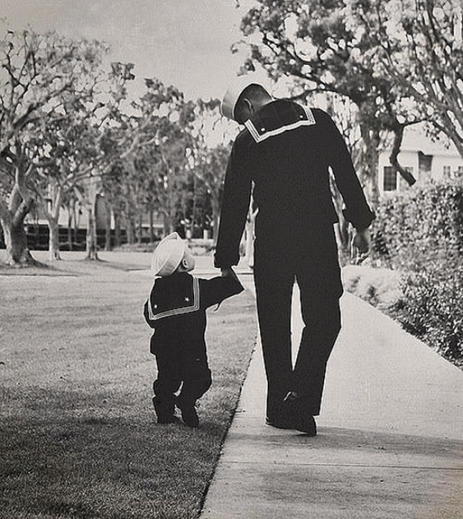 father like son in the navy
