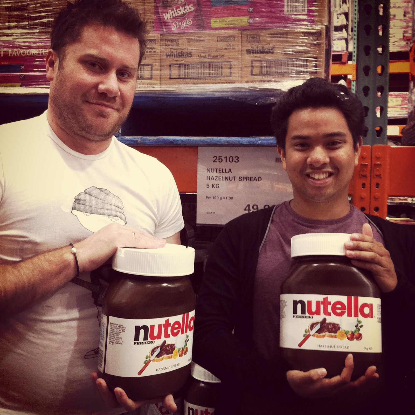 gifting nutella