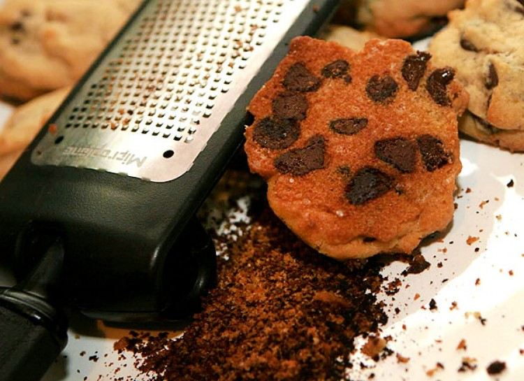 grate the burnt cookies and no one will know