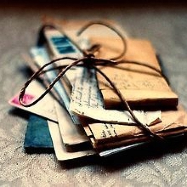 handwritten love letters