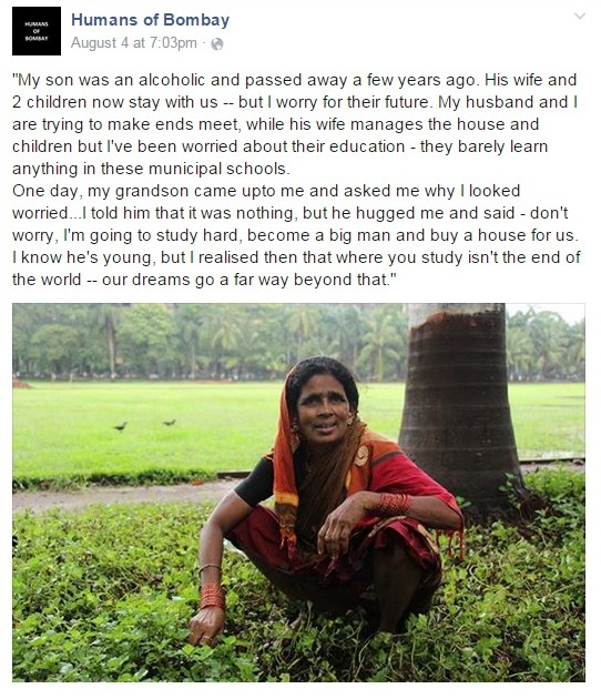 humans of bombay story 1