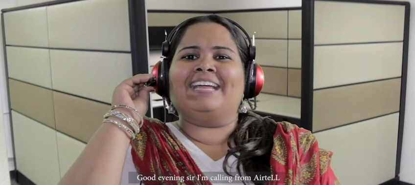 i am calling you from airtel
