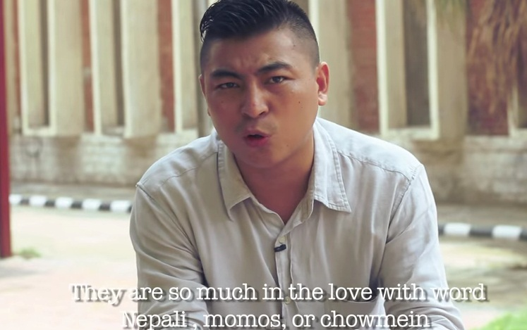 in love with the word nepali