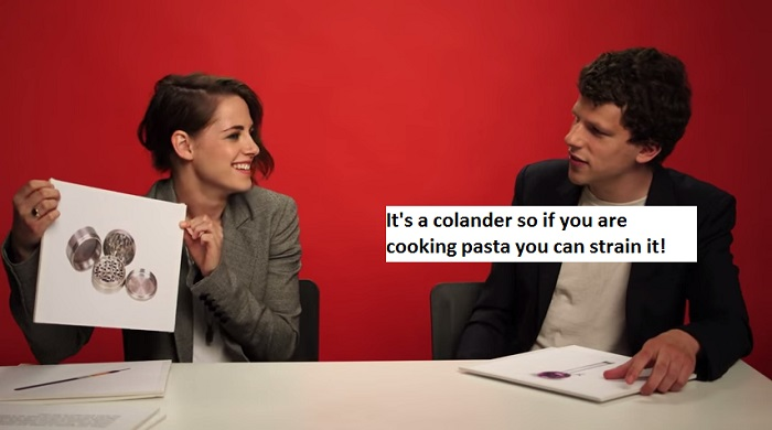 it is a colander