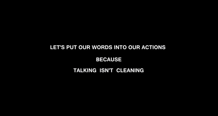 lets put our words into actions