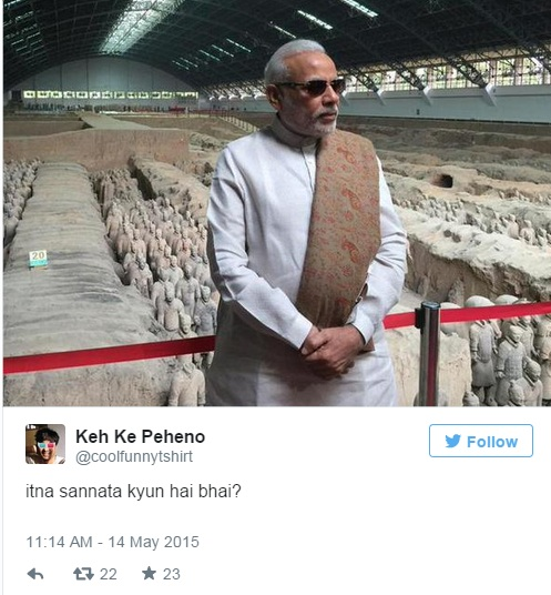 modi in china tweet 10