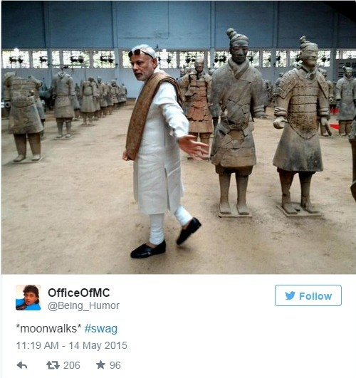 modi in china tweet 11