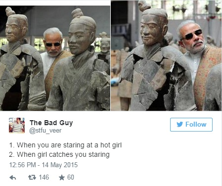 modi in china tweet 15