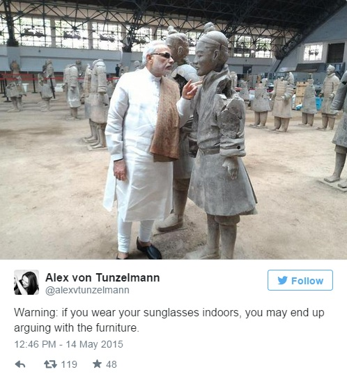 modi in china tweet 3=4
