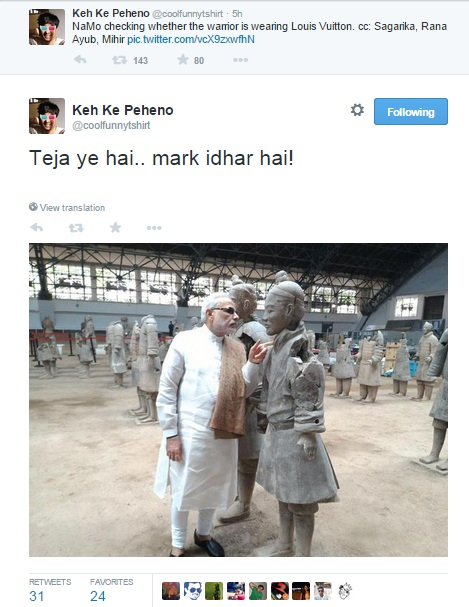 modi in china tweet 7