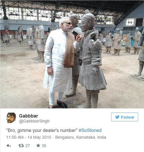 modi in china tweet 8