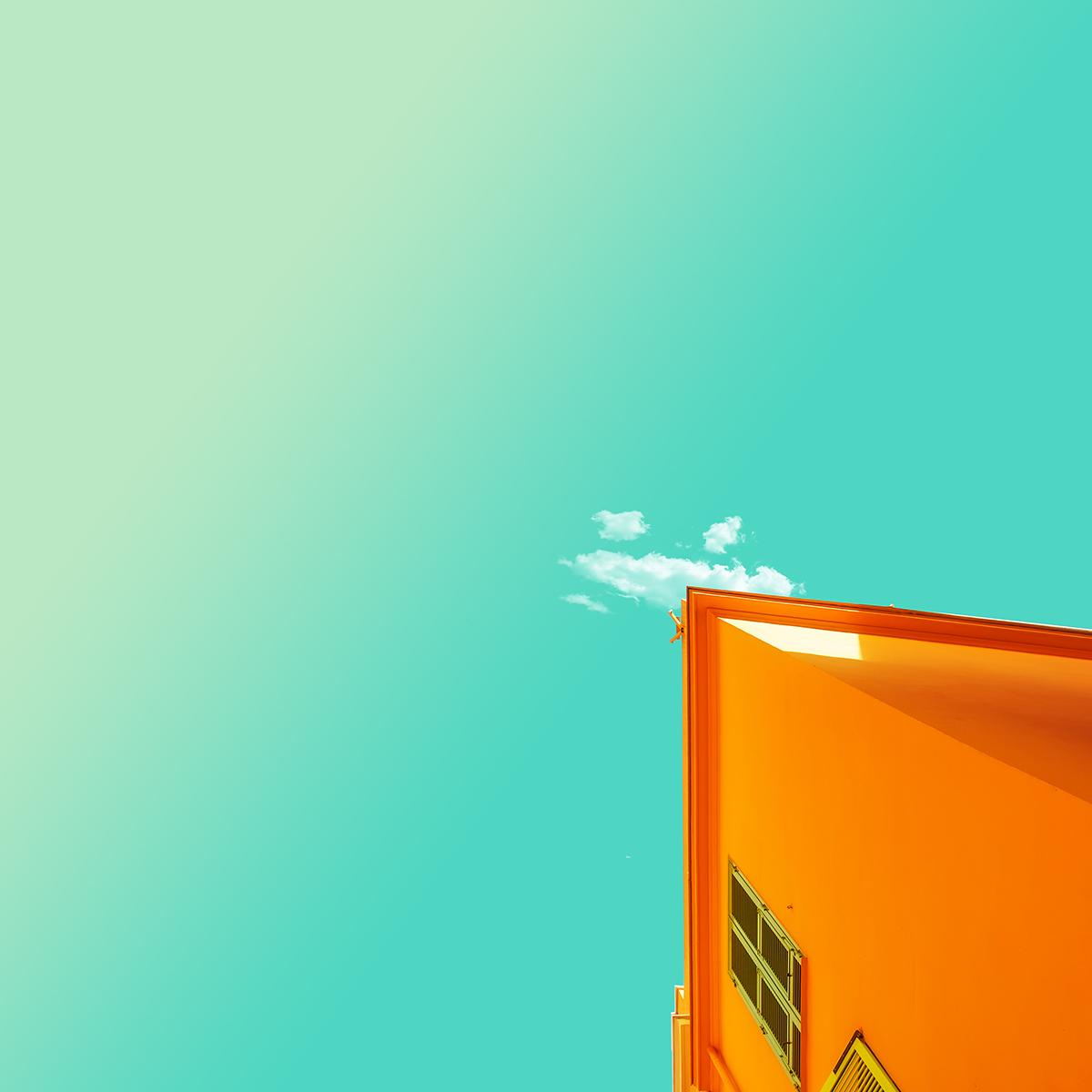orange- minimal pure by turkish artist