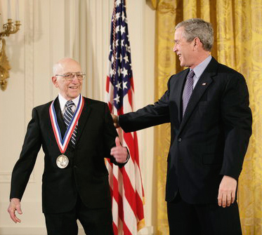 ralph baer with george bush