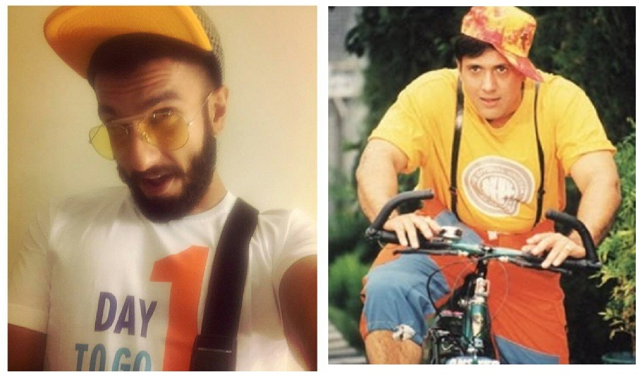 ranveer in yellow cap