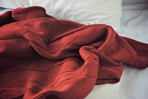 red-cable-knit-blanket