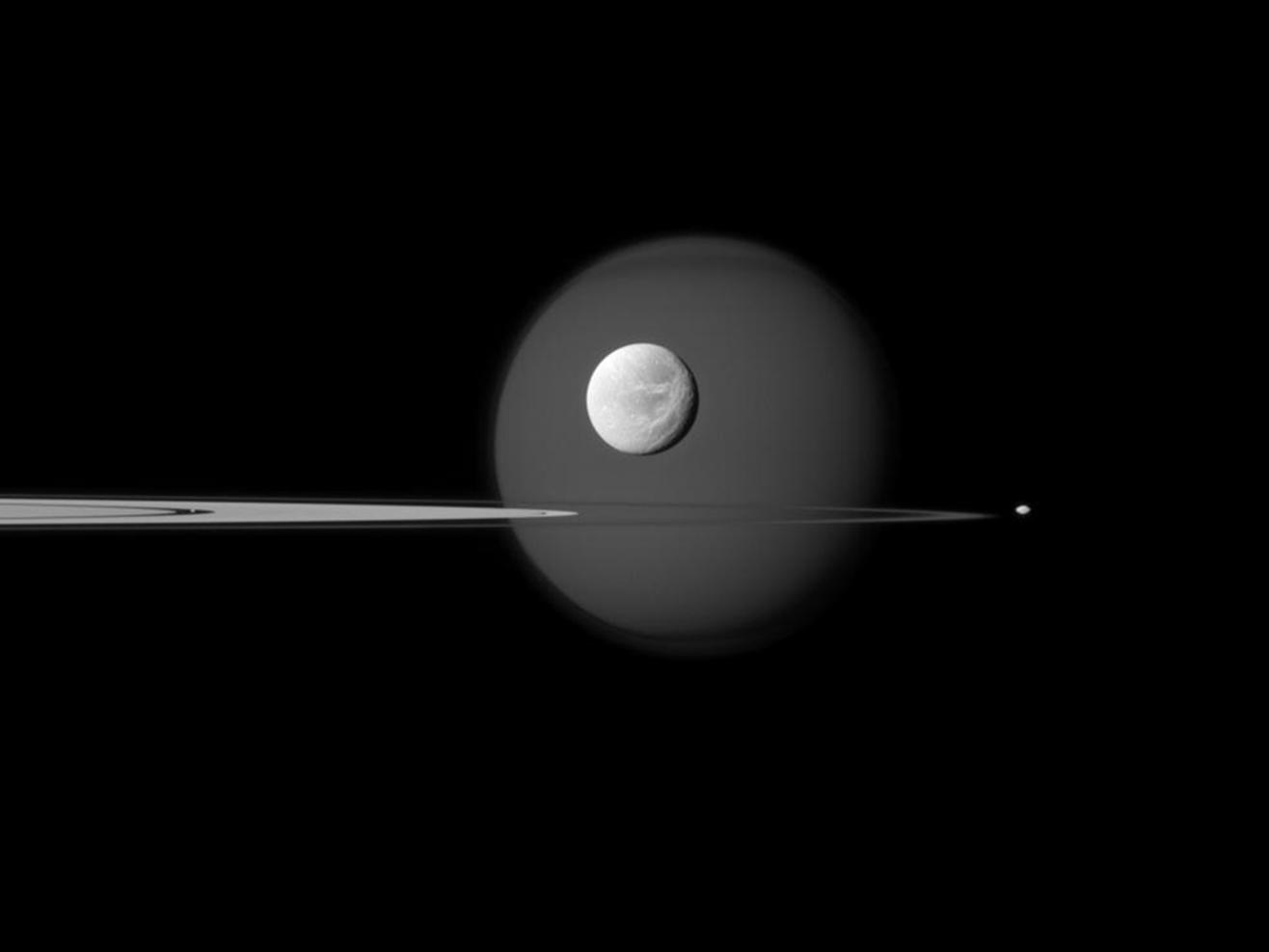 saturn's new moon