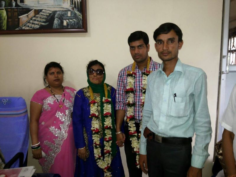 sonali and her family