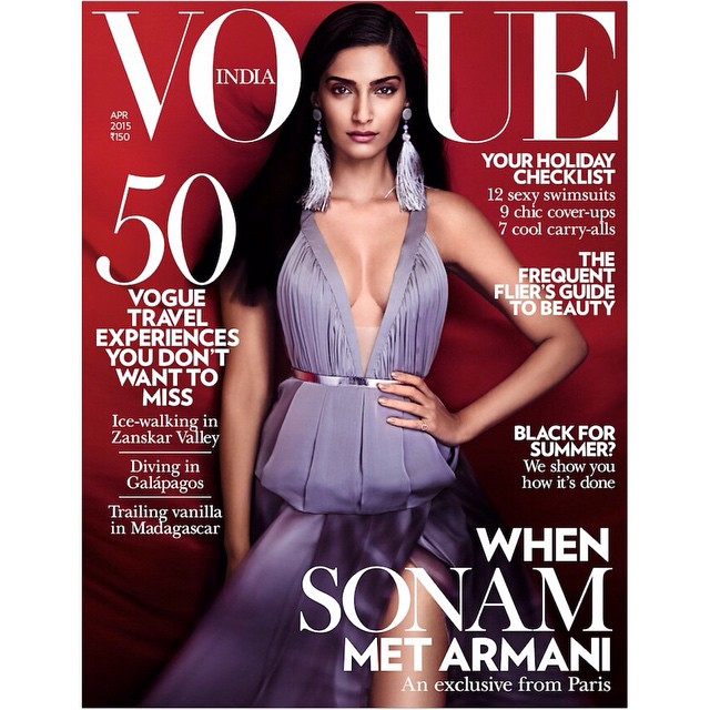 sonam vogue cover