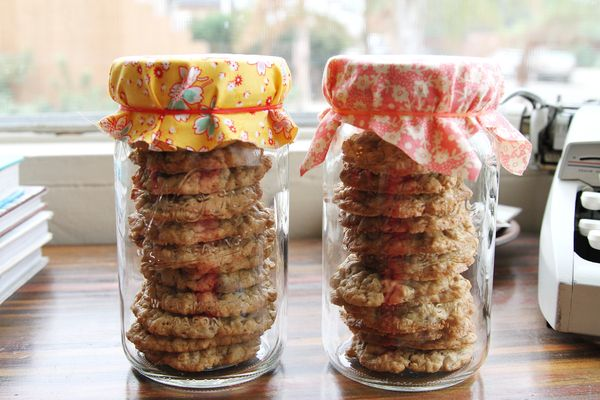 store cookies with bread to keep them moist and soft
