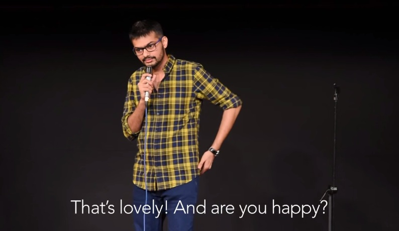 that's lovely are you happy