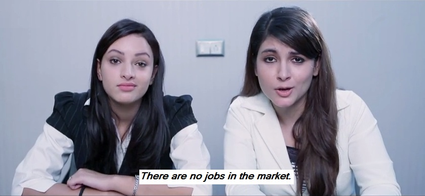 there are no jobs in the market