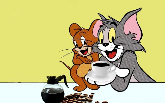 Tom And Jerry Eating Food