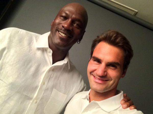 two big celebrities selfie
