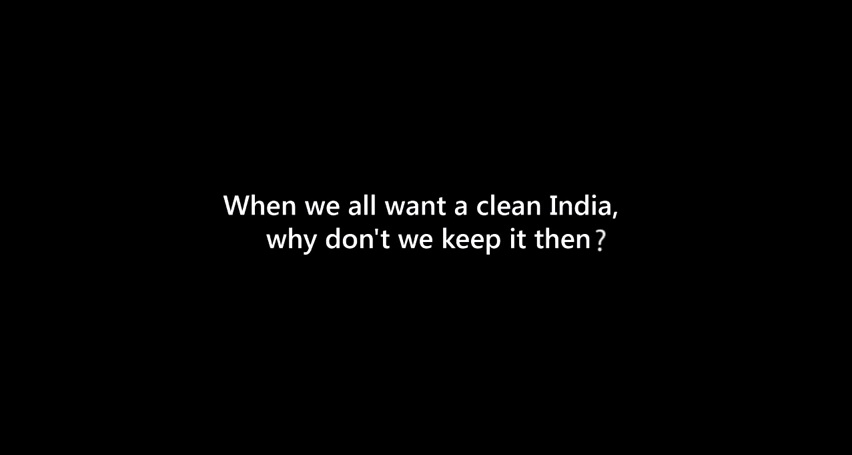 when we all want a clean india