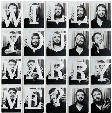 will you marry me collage
