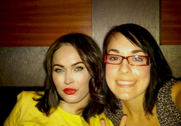 with megan fox