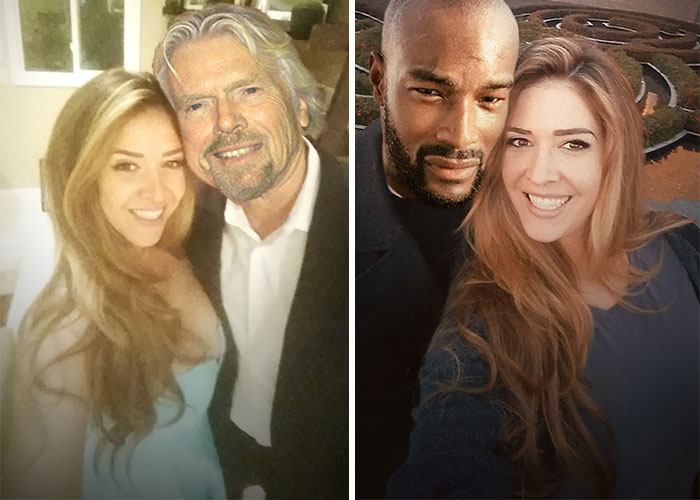 with richard branson and tyson beckford