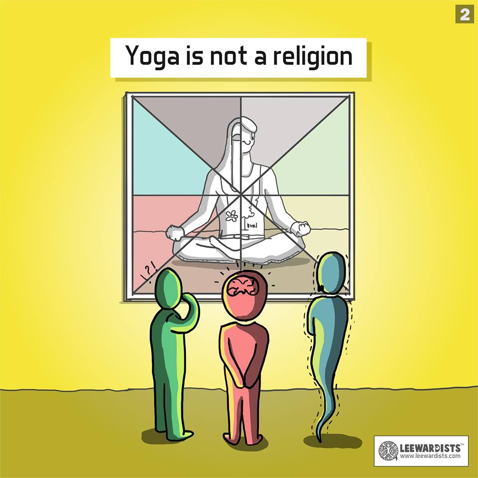 yoga is not a religion