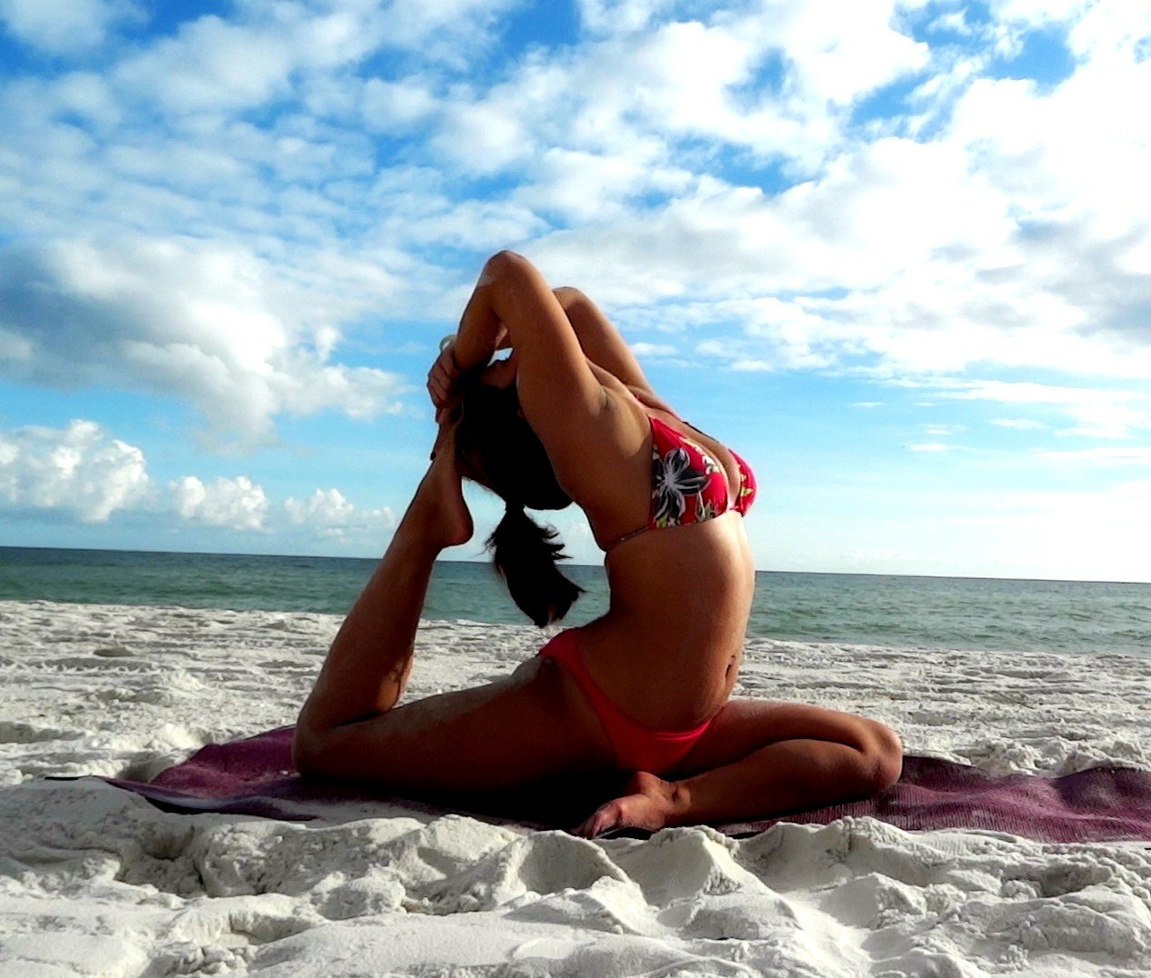 9. Learn yoga and attend all yoga festivals.