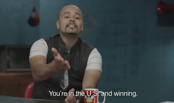 you are in the US and winning