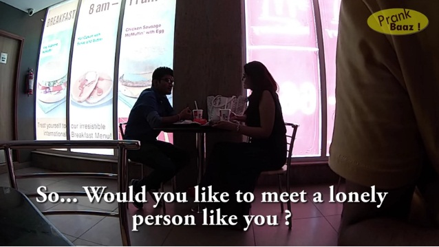 you like to meet a lonely person like you